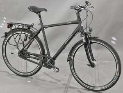 Anständiges CIty/Trekkingbike 11-Gang Getriebenabe, Lock-out Federgabel, Chainglider