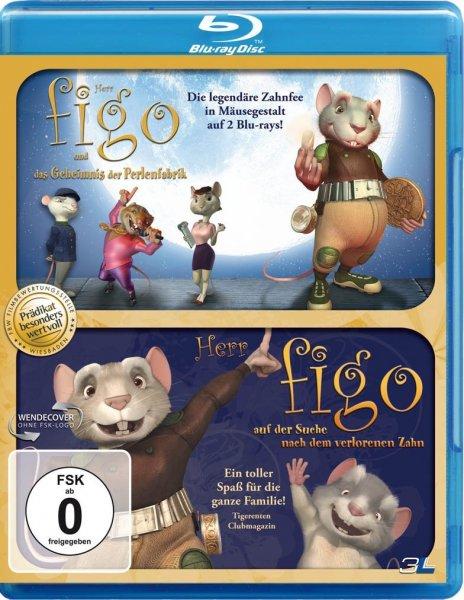 """[Amazon Prime] Doppel-Blu Ray """"Herr Figo und das Geheimnis der Perlenfabrik/Herr Figo auf der Suche nach dem verlorenen Zahn"""""""