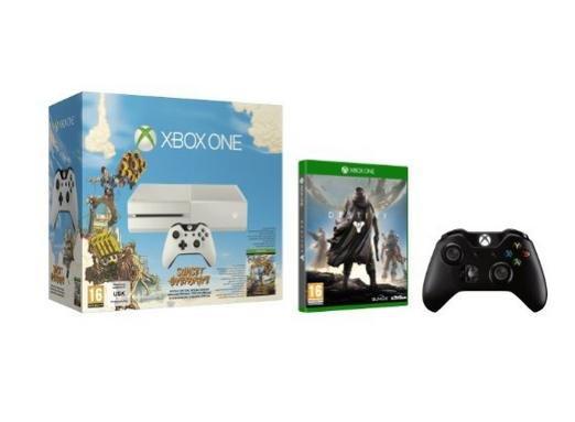 [amazon Italien] Xbox One White + Sunset Overdrive + Destiny + 2ten Controller für 399,33 €