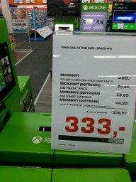 Xbox one inkl. 3 Spiele für 333€ [lokal]