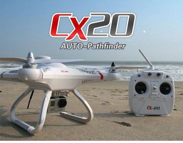Cheerson CX-20 cx20 Drohne RTF - OpenSource Edition