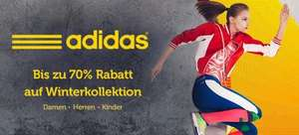 UPDATE Aufgefüllt: Adidas Bis zu 70% Wintersale