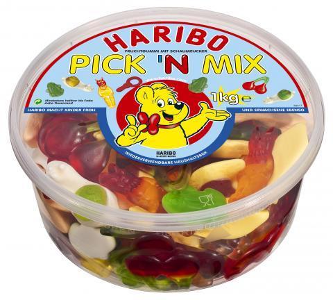 Haribo PICK´N MIX 1 kg-Runddose @ Haribo Onlineshop für 2,99€ (-25% OFF)