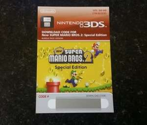 @Meinpaket: New Super Mario Bros. 2 Special Edition Download Code für 3DS/2DS 22,90 €