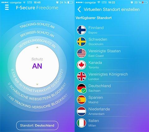 F-Secure Freedome - neuer Code für 4 Monate VPN (nur bedingt für Bestandskunden)