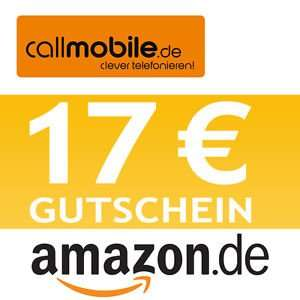 Callmobile SIM-Karte mit 17 € Amazon Gutschein für nur 2,95 € inkl. 10€ Start-GH