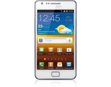 """Samsung Galaxy S2 i9100 weiss """"Mein Paket"""" @ 99€"""