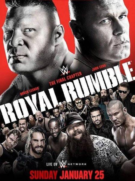 WWE Royal Rumble 2015 gratis  vom 25.1.2015 !!