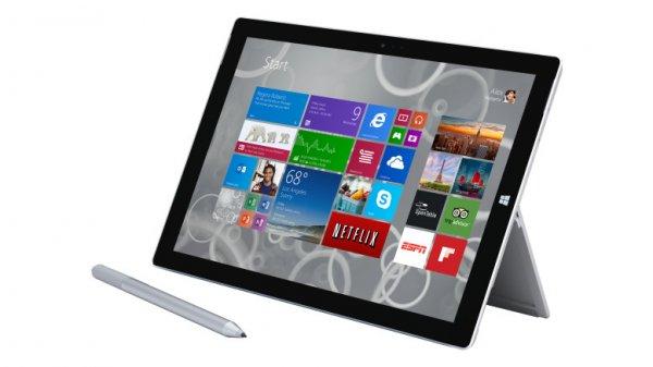 Studenten: Surface Pro 3 - i5 & 128GB für €899.10/Surface Pro 3 - i7 & 256GB, 1.394,10 €