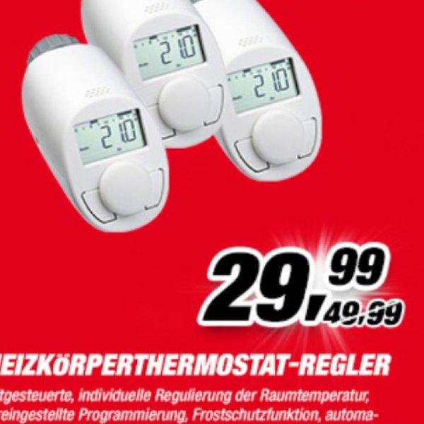 [toom] 3x Heizkörper-Thermostat Typ N für 29,99€