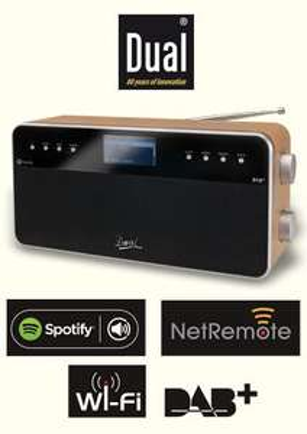 Dual DAB+-Radio-Station IR6S mit WLAN  für 89,99€ ab dem 04.02.2015 @Norma
