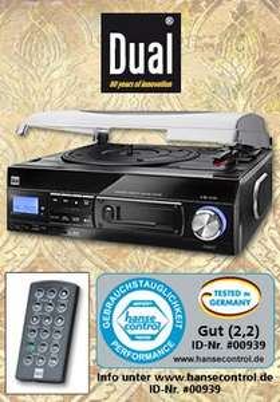 Dual Schallplatten- und Kassettendigitalisierer DTTC 100 für 89,99€ ab dem 04.02.2015@Norma