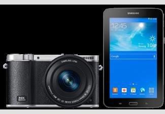 """SAMSUNG NX 3000+16-50mm Kamera + TAB 3 7"""" Lite Tablet für 279,-€ bei Saturn"""