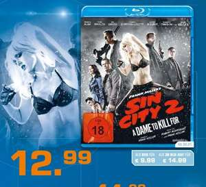 "Sin City 2 ""A Dame to Kill for"" als DVD,Blu-Ray und Blu-Ray 3D für 9,99€ /12,99€/14,99€ bei Saturn"