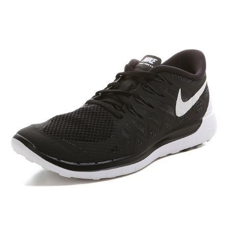 Nike   FREE 5.0 Laufschuhe Herren   schwarz-weiß @vaola.de