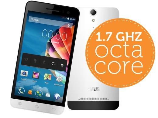 "[Ibood.de] Smartphone Avus A84 Octa-Core-Prozessor – 5"" HD - DUAL SIM"