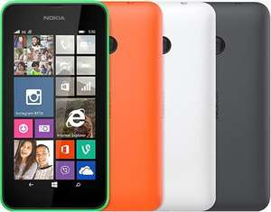 [one-telecom.de] Lumia 530 Windows Phone Dual-SIM in grün / orange / weiß für 69,90€ - 8% Ersparnis