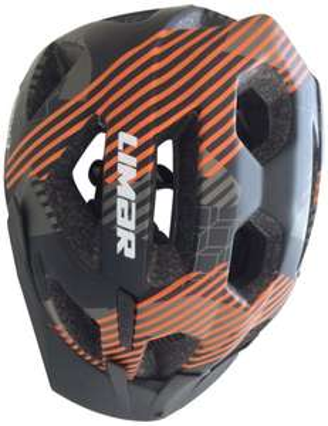 Amazon: Limar Fahrradhelm X-MTB Schwarz Anthrazit Orange für 23,09 Euro, 48% gespart