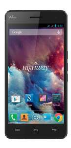 Wiko HIGHWAY 2GHz OCTA-CORE Smartphone (5 Zoll) Full HD IPS, DUAL SIM, 16GB, 2GB RAM, 16 Megapixel Kamera, Android 4.4) schwarz @Amazon IT WHD