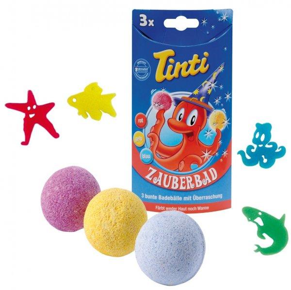 [Prime]Tinti Zauberbad 3er Pack (Badebälle in rot, blau, gelb) Einmalige Lieferung nur EUR 4,79 und Spar-Abo günstiger