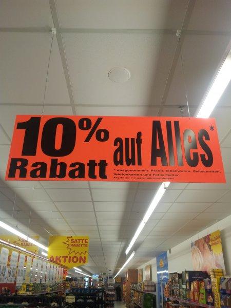 [Lokal] 10 % auf alles (Netto ohne Hund am Trachenberger Platz, Dresden)