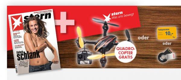 Stern Prämienabo mit Quadrocopter oder 10€ Tankgutschein für 19,90€