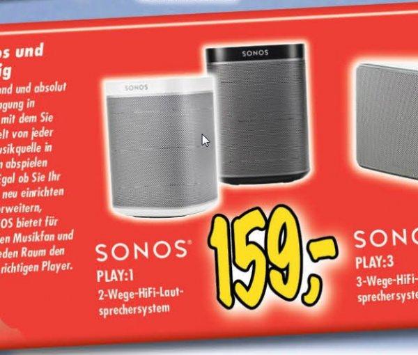 [Lokal Technoland] Sonos Play:1 für 159€
