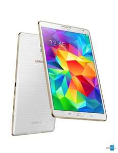 Samsung Galaxy Tab S 8.4 Tablet WiFi in weiß 299€ - 100€ Cashback