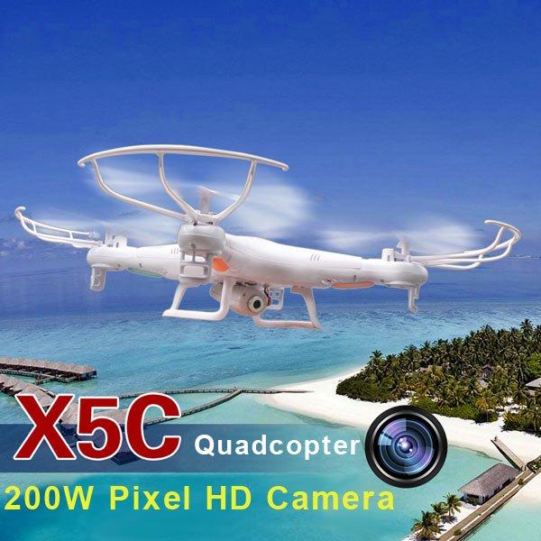 Syma X5C Quadrocopter mit 2MP Kamera+ 4 Akkus *Aliexpress* vllt. Preisfehler