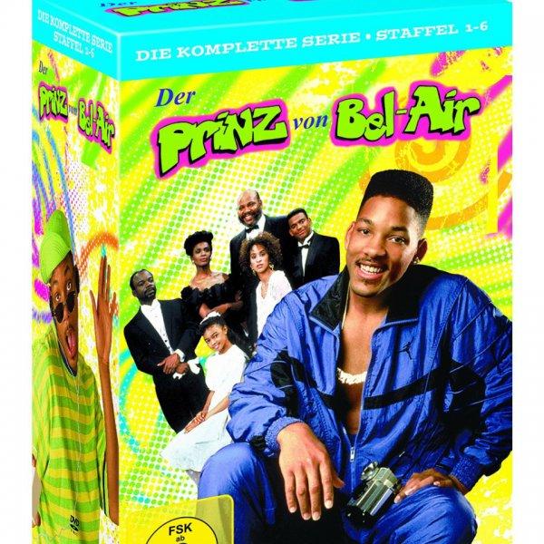 Prinz von Bel Air komplette Staffel 1-6 bei Amazon für 39,99€