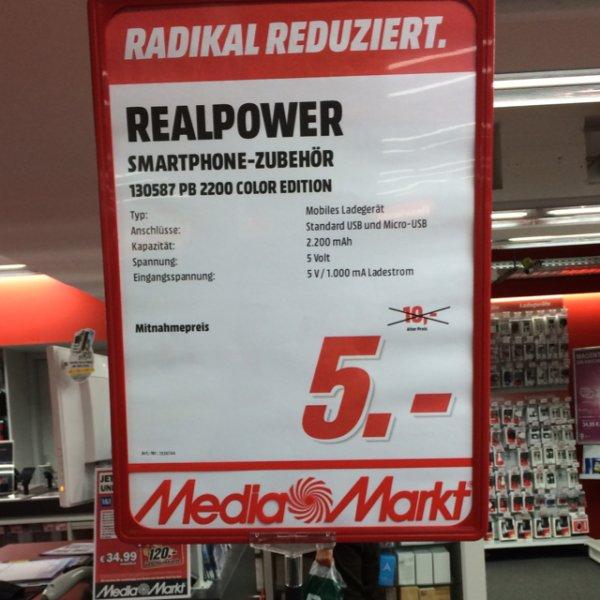 [Lokal] Aachen Media Markt Akkupack 2200mAh