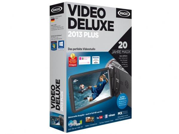 MAGIX Video Deluxe 2013 Videobearbeitungsprogramm [+ 13 % Qipu Cashback]
