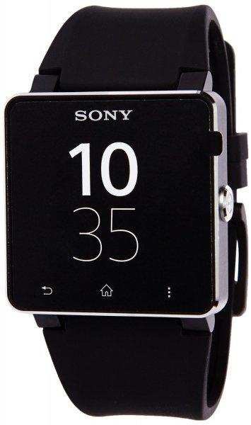 @Amazon IT: Sony SmartWatch 2 Handy-Uhr (4,1 cm (1,6 Zoll) Display, NFC, Bluetooth, Android 4.0) mit Silicon-Armband schwarz für 64,20€ inkl. Lieferung