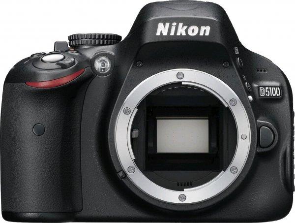 Nikon D5100 Body + Objektiv + Filter