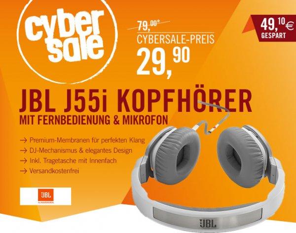 CYBERSALE JBL J55i On-Ear Kopfhörer für 29,90€ limitiert!