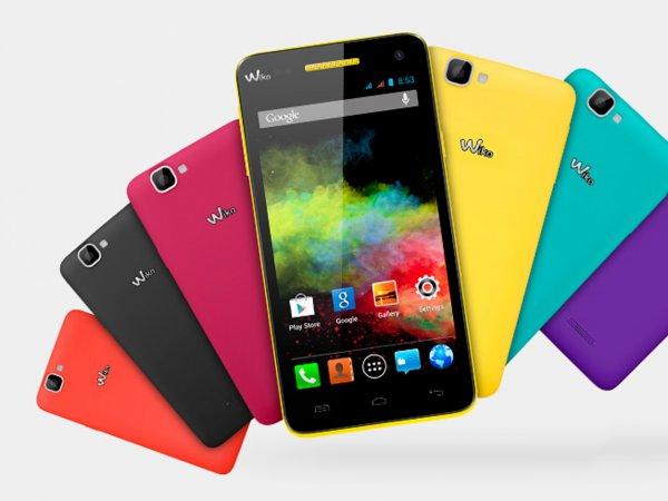 [Amazon.fr] Wiko Rainbow Dual-SIM in verschiedenen Farben - ab 120,79€ (ca. 13% Ersparnis)