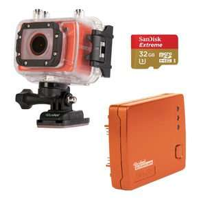 Rollei Actioncam 5+ Bike Edition incl. DW-10 Wifi-Kit & Sandisk 32Gb