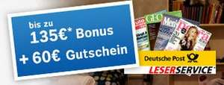 Vattenfall Stromtarif: bis zu 135€ Bonus nach einem Jahr + 60€ Leserservice.de Gutschein nach 4 Wochen