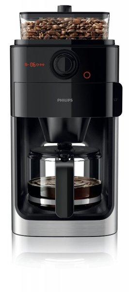 [Amazon Blitzangebot] Philips HD7761/00 Grind und Brew Kaffeemaschine mit integrierten Edelstahl-Mahlwerk, 1000 W, edelstahl / schwarz