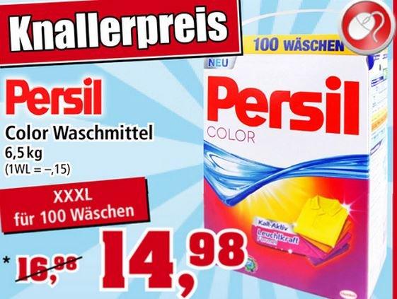 Persil Color Pulver 15ct je Waschladung [Thomas Philipps nur offline] nur bis 31.1.