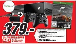 Xbox One + zweiter Wireless Controller mit Play & Charge Kit und Forza 5 für 379€