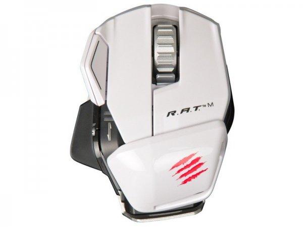 [Amazon.it] Mad Catz R.A.T. M Bluetooth Gaming Maus in weiß für 49,81€ // [Hugendubel] rot und weiß für 56€ +6% Qipu