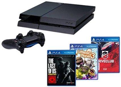 Playstation 4 + DriveClub, Little Big Planet 3 und The Last of Us @Amazon für 399€ +5€ Strafversand