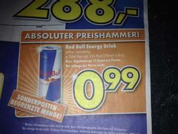 Red Bull 250ml - Euronics XXL - Brumberg Kamen