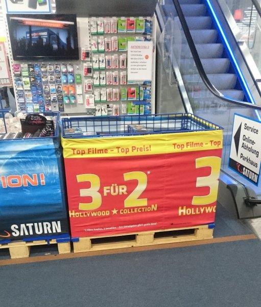 [Lokal] Karlsruhe Saturn Europaplatz - 3x2 Bluray und DVD Sets (BESTPREISE)