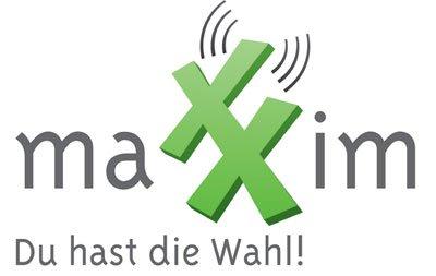 maXXim O2 Flat XM 1000 plus Allnet-Flat mit SMS-Flat und 1 GB (bis zu 14,4 Mbit/s) mtl. kündbar für 14,95€ + 19,95€ AG