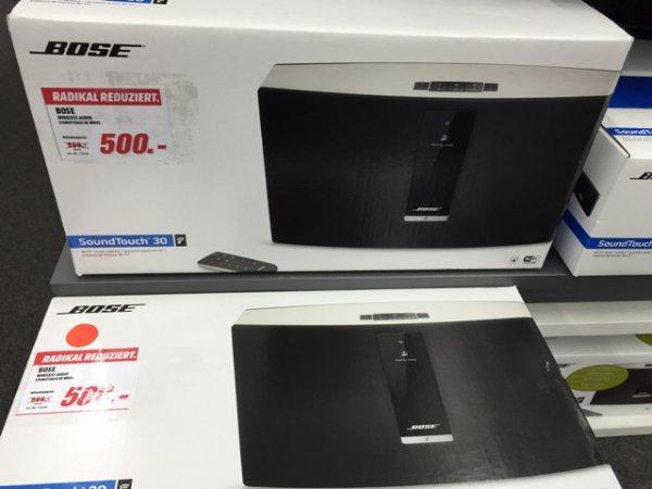 Bose Soundtouch 30 500€ Lokal Media Markt Henstedt -Ulzburg