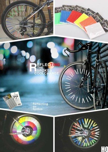 Fahrrad Speichenreflektor jetzt für die dunklen Tage