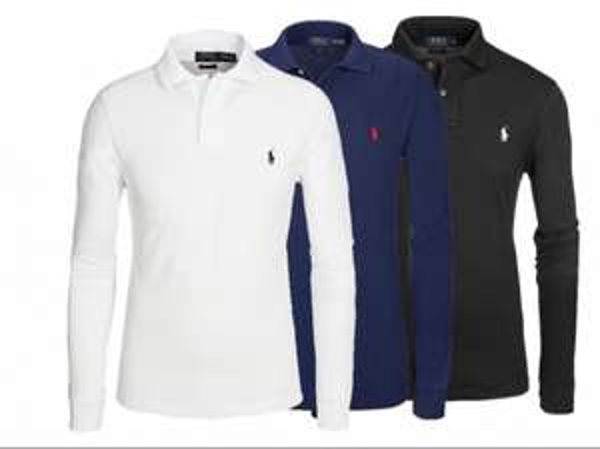 Ralph Lauren langarm Poloshirt 60% Rabatt versandkostenfrei