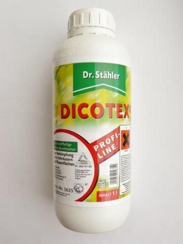 @ebay:Dr. Stähler DICOTEX, Rasen-Unkrautvernichter, Herbizidkombination, 1 Literfür 22,60€ idealo ab 28€